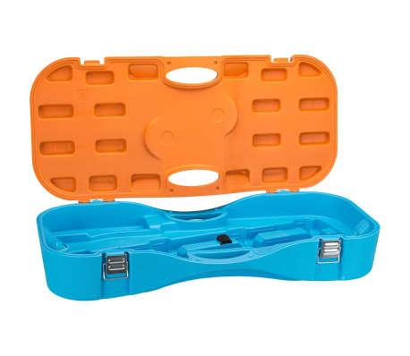 get go badminton set blau und orange 65ka g nstig kaufen. Black Bedroom Furniture Sets. Home Design Ideas