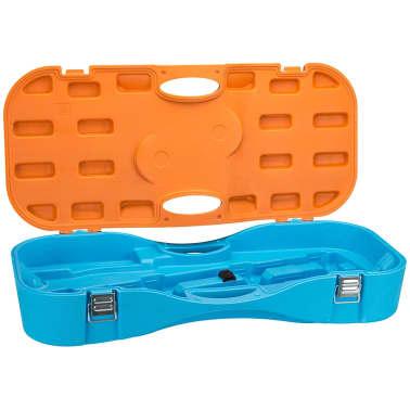 Get & Go komplet za igranje badmintona modre in oranžne barve 65KA[3/10]