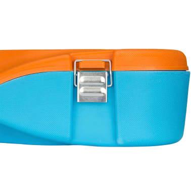 Get & Go komplet za igranje badmintona modre in oranžne barve 65KA[4/10]