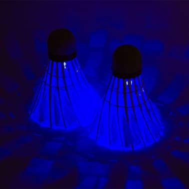 Get & Go komplet za igranje badmintona modre in oranžne barve 65KA[9/10]