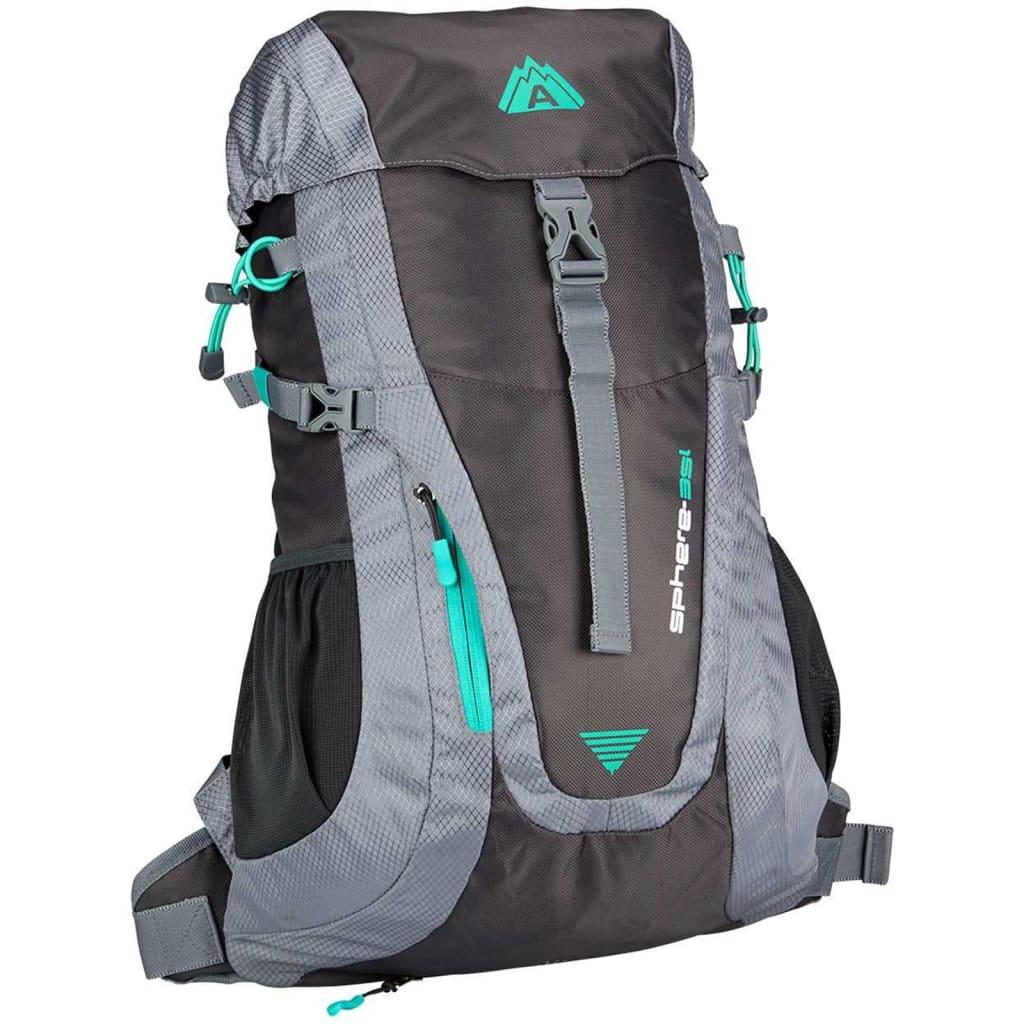 Afbeelding van Abbey Backpack Aero-Fit Sphere 35 L antraciet en groen 21QC-AGG-Uni
