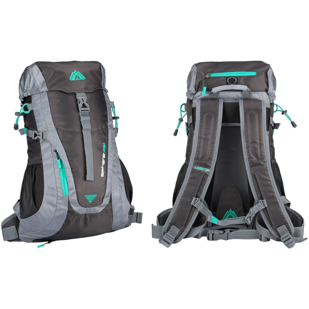 Abbey Backpack Aero Fit Sphere 35 L antraciet en groen 21QC AGG Uni