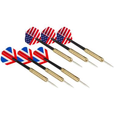 Abbey Darts Diana reversible con 2 juegos de dardos 52AZ-UNI-Uni[4/5]