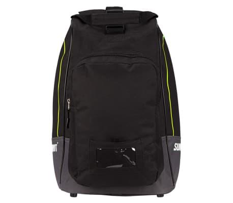 Summit Skischoenentas zwart en fluorescerend geel