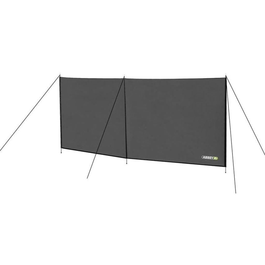 Afbeelding van Abbey Camp windscherm 300 cm grijs