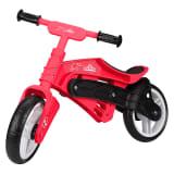 Nijdam Bicicleta de equilibrio sin pedales N Rider rosa y negra