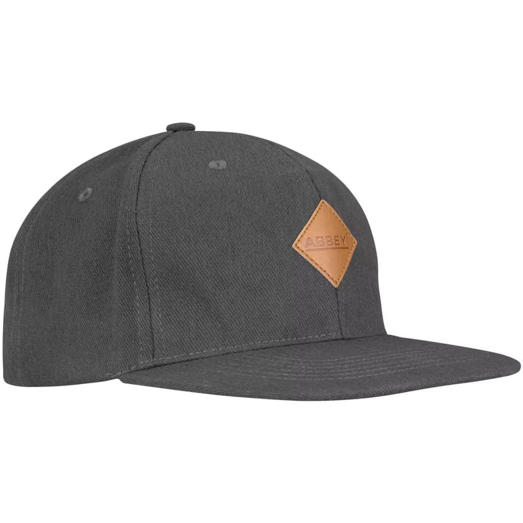 Afbeelding van Abbey baseballcap Snapback unisex grijs
