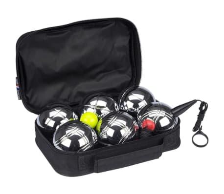 Get & Go Balinarski komplet V 6 krogel srebrne 52JU-CHR-Uni[1/4]