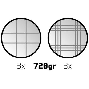 Get & Go Balinarski komplet VI 6 krogel srebrne 52JV-CHR-Uni[4/4]