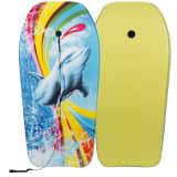 Waimea Bodyboard Delphin-Aufdruck Gelb 52WU-GEE-Uni
