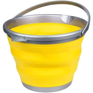 Abbey Camp Cubo plegable 15 L amarillo 21WL-GEG-Uni[1/4]