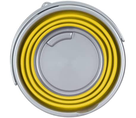 Abbey Camp Cubo plegable 15 L amarillo 21WL-GEG-Uni[3/4]