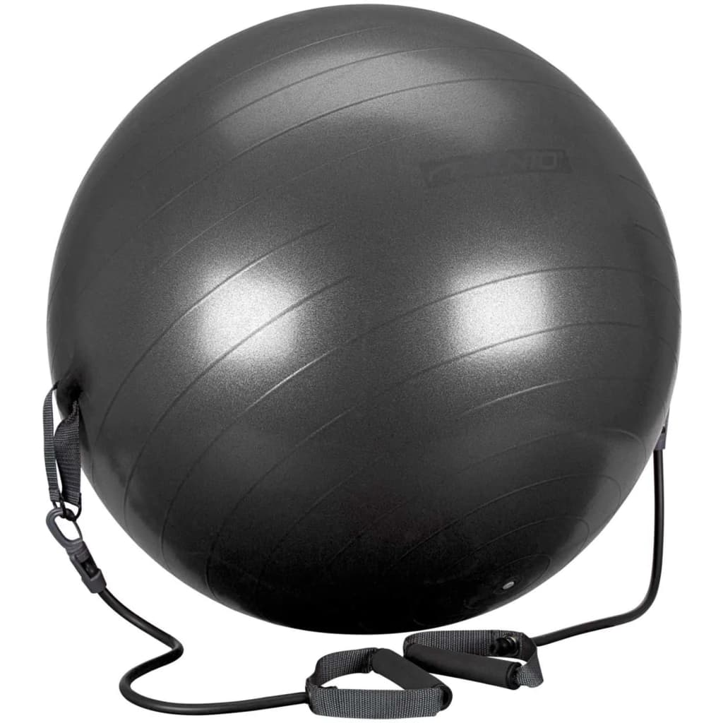 Avento Minge de fitness cu tuburi de rezistență negru 65cm 41TO-ZWG-65 poza 2021 Avento