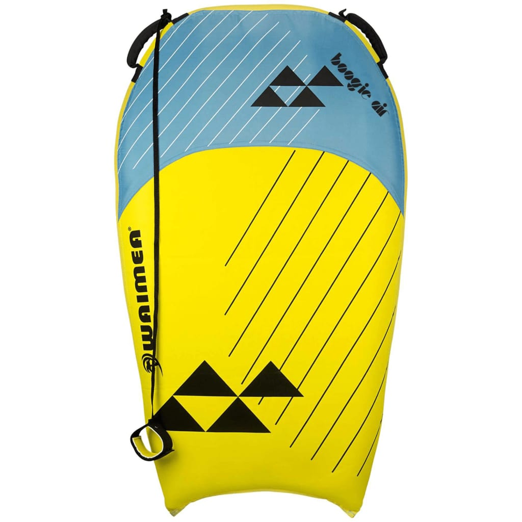 Waimea Placă de surf gonflabilă Boogie Air galben și albastru PVC poza 2021 Waimea