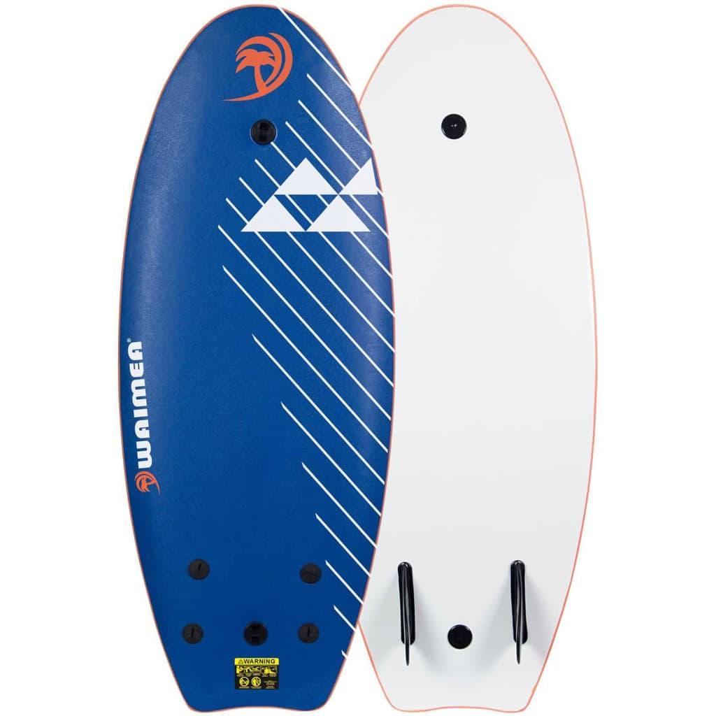Waimea Placă de surf EPS, albastru, 114 cm, neted, 52WZ-BLO-Unol poza vidaxl.ro