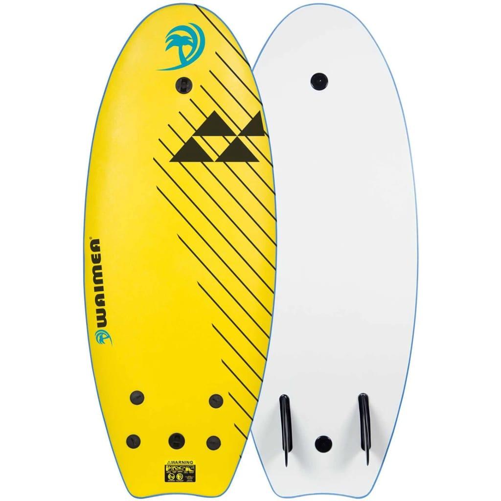 Waimea Surfovací prkno EPS 114 cm žluté 52WZ-GLB-Uni