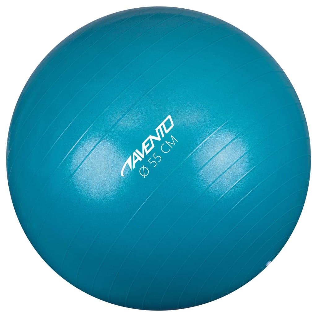 Avento Minge de fitness/gimnastică, albastru, diam.55 cm poza 2021 Avento