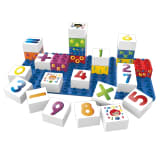 BiOBUDDi Blocs de construction 27 pcs Nombres BB-0002