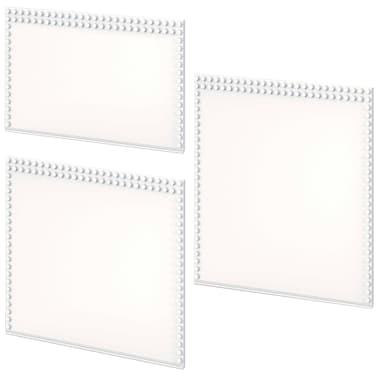 iWALLZ Set de plataformas de tres piezas blanco i8025[2/8]