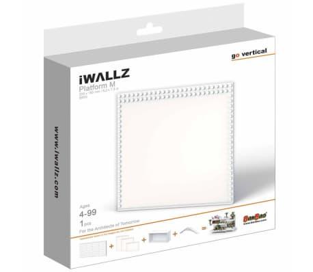 iWALLZ Set de plataformas de tres piezas blanco i8025[7/8]