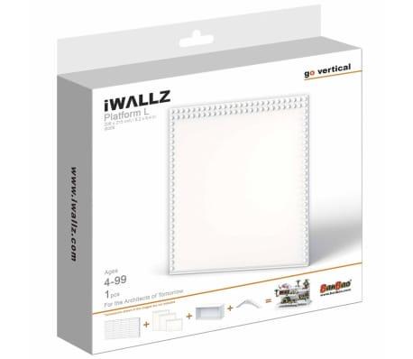 iWALLZ Set de plataformas de tres piezas blanco i8025[8/8]