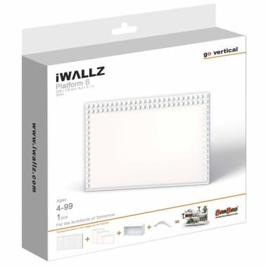 iWALLZ Set de plataformas de tres piezas blanco i8025[6/8]
