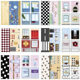 iWALLZ 6-teiliges Sticker-Set 22 x 10,5 cm i8022