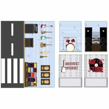 iWALLZ 6-teiliges Sticker-Set 22 x 10,5 cm i8022[7/8]