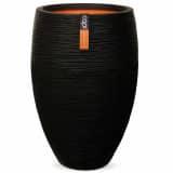 Capi Vas Nature Rib Deluxe 40x60 cm svart PKBLR1131