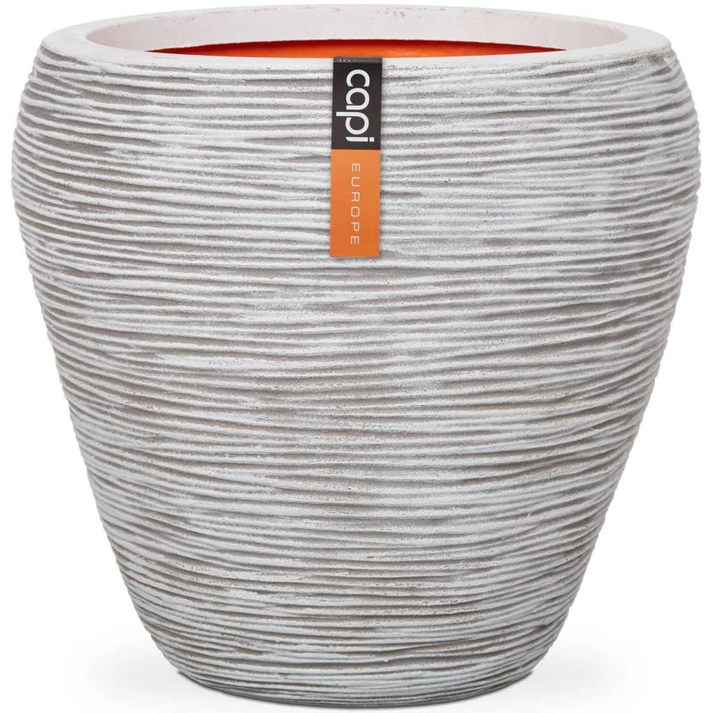 Capi®Tutch Vase Taps Rib ivoor