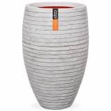 Capi Vase Nature Row Elegant Deluxe 40 x 60 cm Elfenbein PKRWI1131