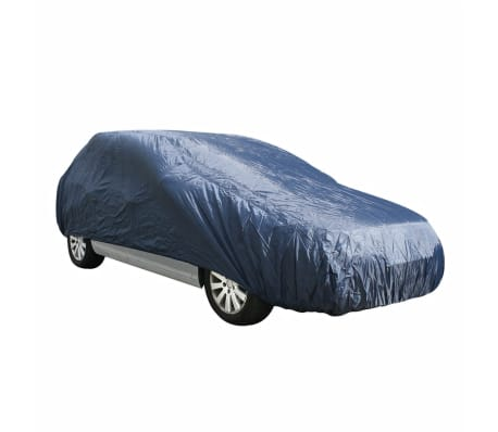 ProPlus Funda cubierta para coche M 432x165x119 cm azul oscuro[2/2]