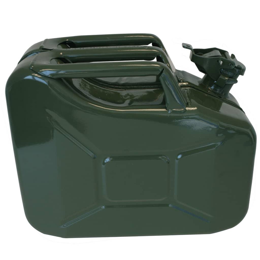 Afbeelding van ProPlus metalen jerrycan 10L groen