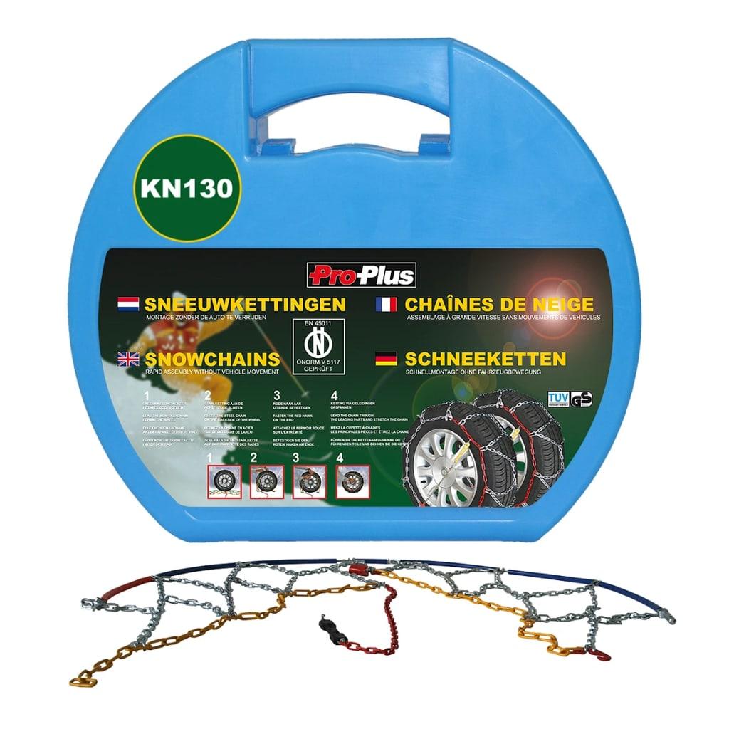 ProPlus Lanțuri pentru anvelope auto 12 mm KN130, 2 buc. imagine vidaxl.ro