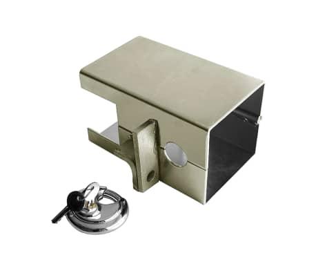 proplus anh nger kastensicherung klappbar mit schloss 341324s g nstig kaufen. Black Bedroom Furniture Sets. Home Design Ideas