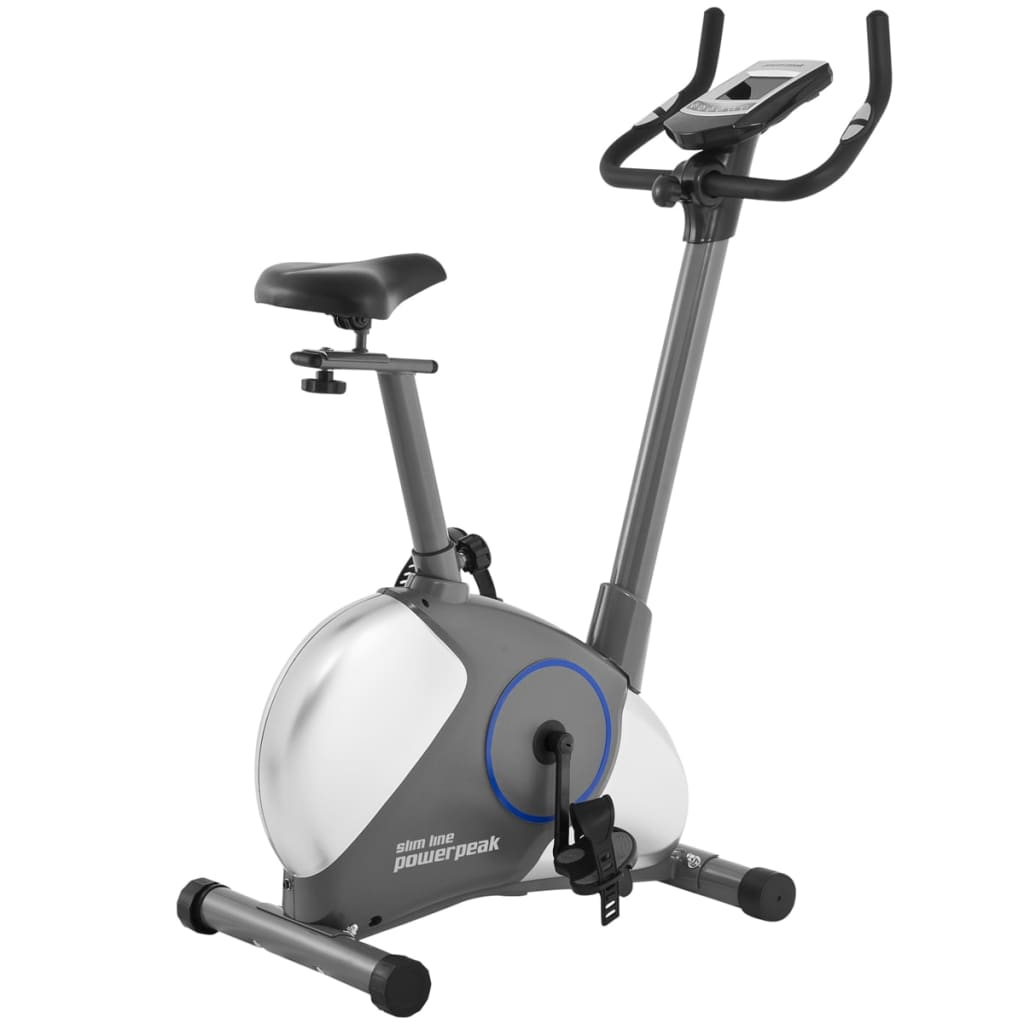 PowerPeak Bicicletă cu ergometru Slim Line imagine vidaxl.ro