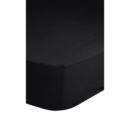 emotion b gelfreies spannbettlaken 90x200 cm schwarz g nstig kaufen. Black Bedroom Furniture Sets. Home Design Ideas
