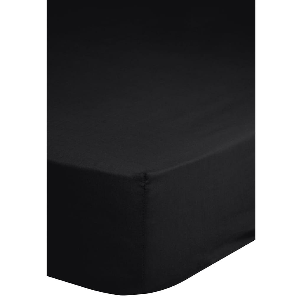Emotion Strykefritt jerseylaken 160x200 cm svart 0220.04.45
