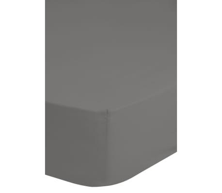 acheter emotion drap housse sans repassage 140 x 200 cm gris pas cher. Black Bedroom Furniture Sets. Home Design Ideas