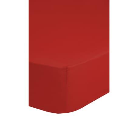 Emotion Dra-på-lakan strykfri 140x200 cm röd 0220.80.4[2/2]
