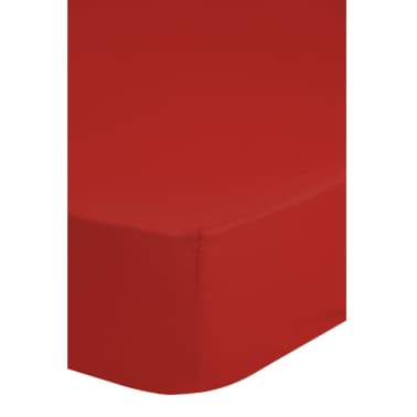 Emotion Dra-på-lakan strykfri 160x200 cm röd 0220.80.45[2/2]