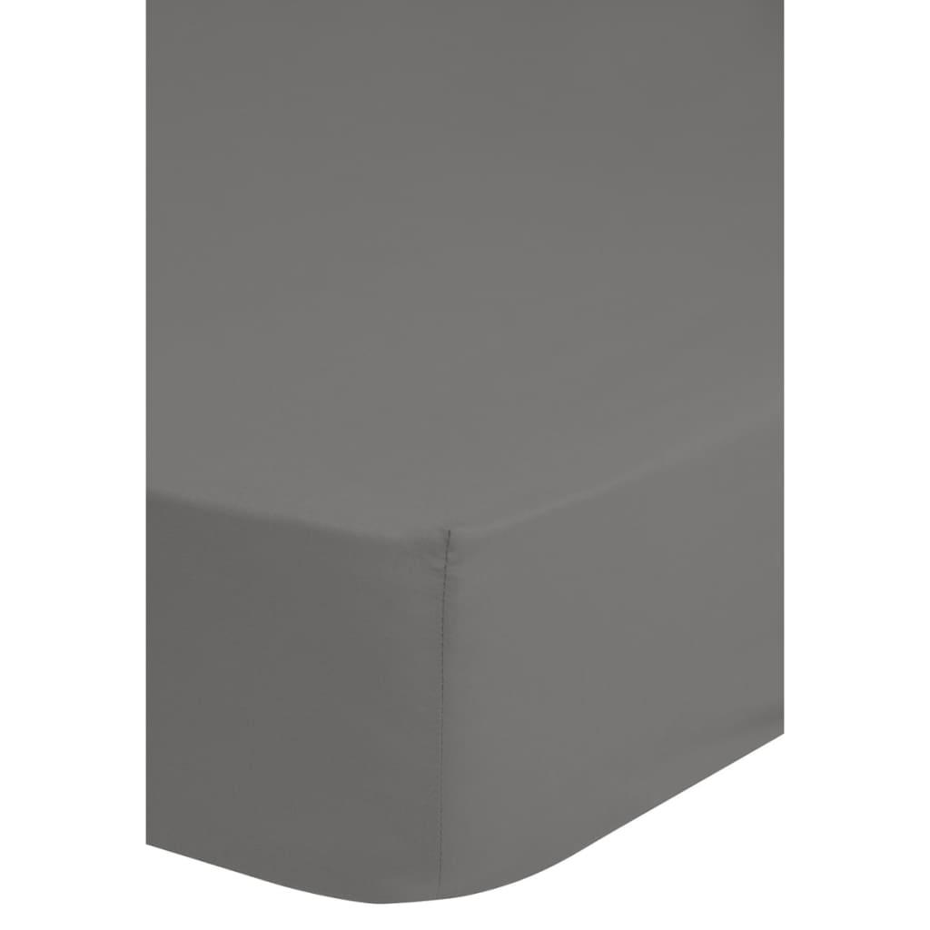 Emotion Jerseylaken 90/100x220 cm grå 0200.03.43