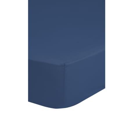emotion b gelfreies spannbettlaken 180 x 220 cm blau g nstig kaufen. Black Bedroom Furniture Sets. Home Design Ideas