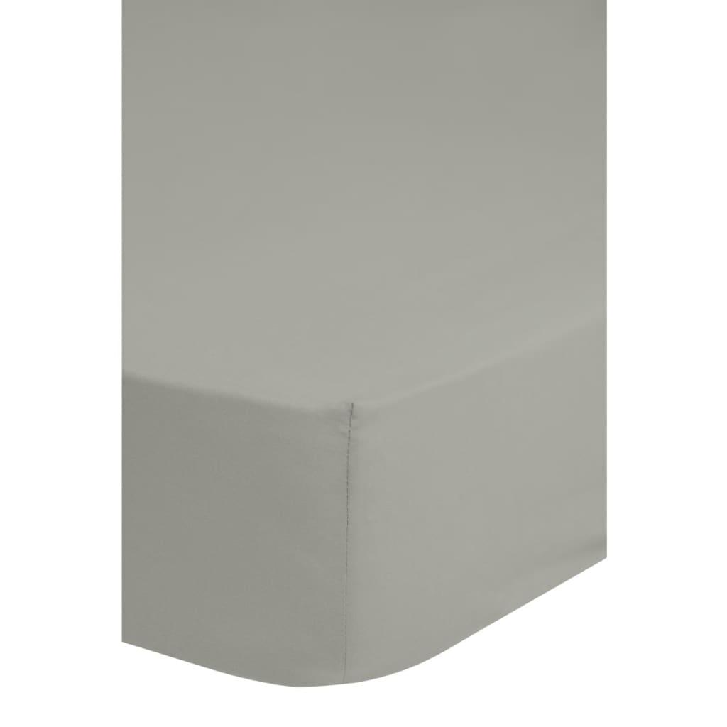 Emotion Strykefritt laken 160x200 cm lysegrå 0220.50.45