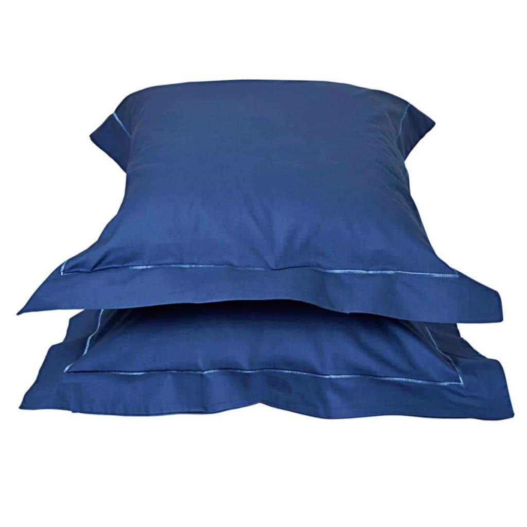 Emotion Nežehlivé povlaky na polštáře 2 ks 60 x 70 cm modré 0222.24.71