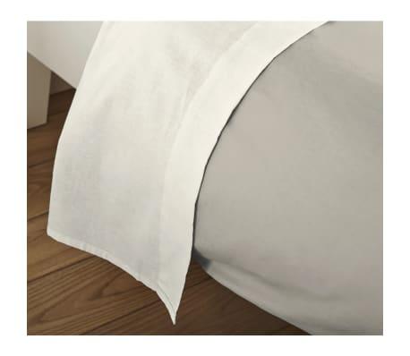 acheter emotion drap plat sans repassage 150 x 250 cm cru pas cher. Black Bedroom Furniture Sets. Home Design Ideas