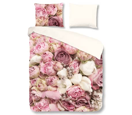 pure bettw sche set 5140 m roses 140 200 220 cm mehrfarbig zum schn ppchenpreis. Black Bedroom Furniture Sets. Home Design Ideas