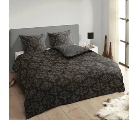 descanso bettw sche set 9300 k anthrazit 200 200 220 cm g nstig kaufen. Black Bedroom Furniture Sets. Home Design Ideas