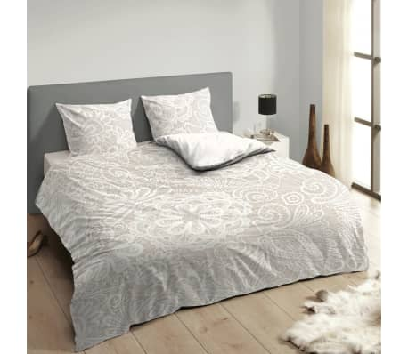 descanso bettw sche set 9301 k ecrufarben 140 200 220 cm g nstig kaufen. Black Bedroom Furniture Sets. Home Design Ideas