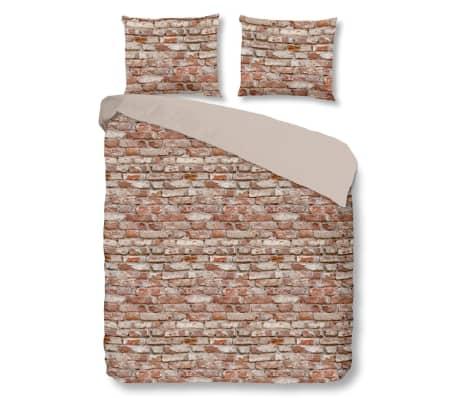 acheter good morning housse de couette 5276 a brick 200x200 220cm multicolore pas cher. Black Bedroom Furniture Sets. Home Design Ideas